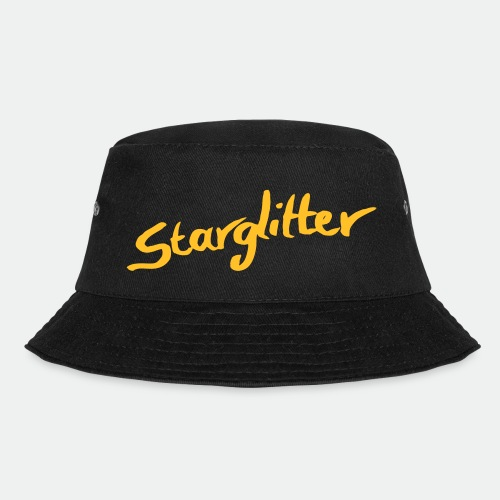 Starglitter - Lettering - Bucket Hat
