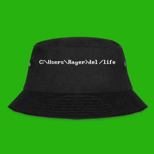 Programming Get A Life - Bucket Hat