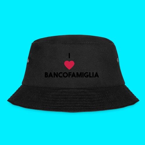 BANCOFAMIGLIA CuoreNera - Cappello alla pescatora