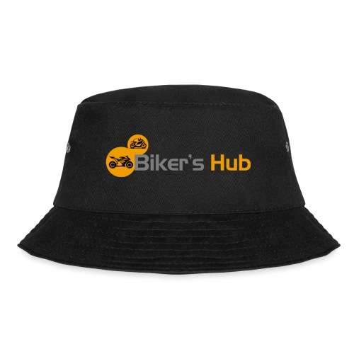 Biker's Hub Logo - Bucket Hat