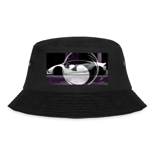 lion black lyon design - Bucket Hat