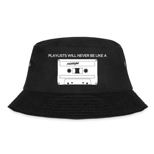 Playlists never like mixtape (dark background) - Bucket Hat