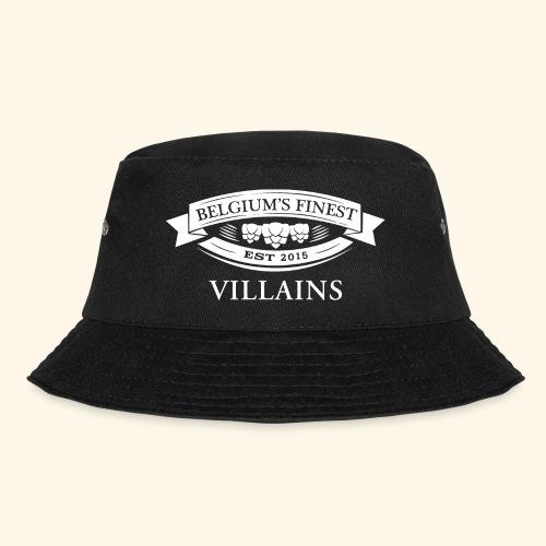 BelgiumFinestEst2015Villains full white - Bucket Hat