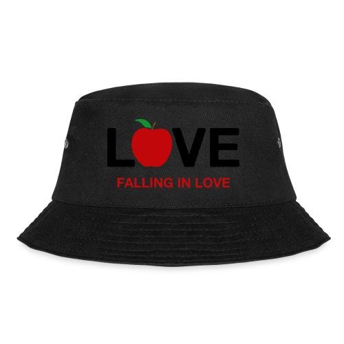 Falling in Love - Black - Bucket Hat