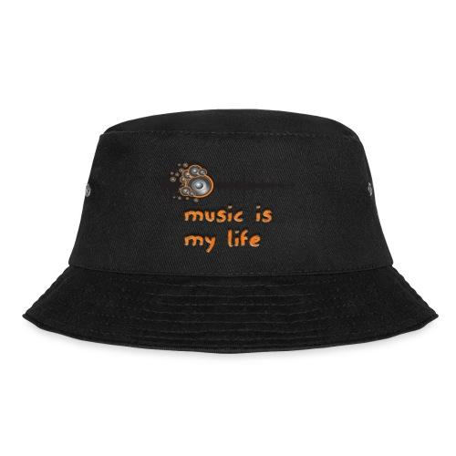 Music is my Life - Cappello alla pescatora