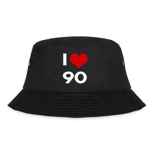 I love 90 - Cappello alla pescatora