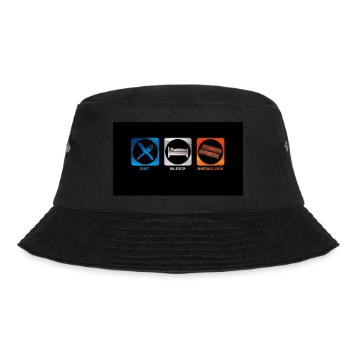 eat_sleep_overclock - Gorro de pescador
