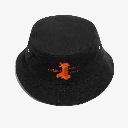 Cymru - Latitude / Longitude - Bucket Hat