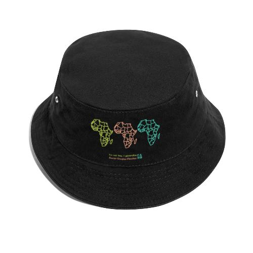 Ramer-Douglas-Peucker Algorithm -Africa - Bucket Hat