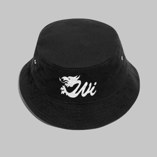 Wales Interactive Logo Dragon White - Bucket Hat
