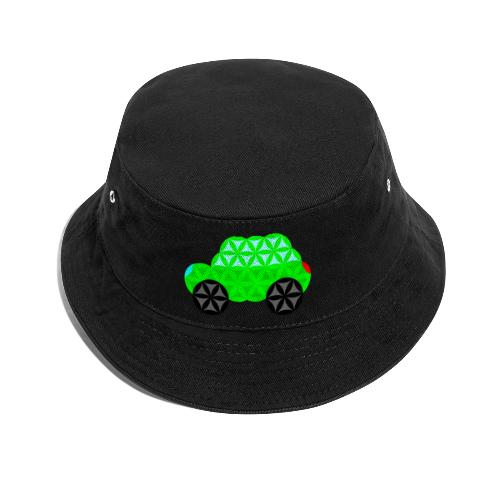The Car Of Life - M01, Sacred Shapes, Green/R01. - Bucket Hat