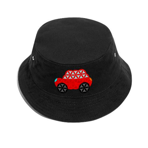 The Car Of Life - M01, Sacred Shapes, Red/R01. - Bucket Hat