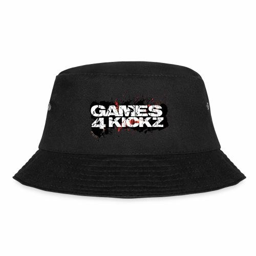 Games4Kickz Logo Splattered Background - Bucket Hat