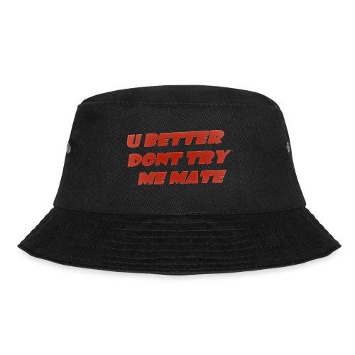Saying in English - Bucket Hat