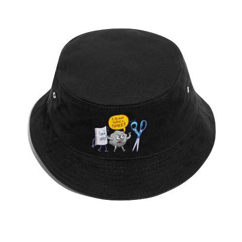 Pierre fâchée donne pas feuille papier aux ciseaux - Bucket Hat