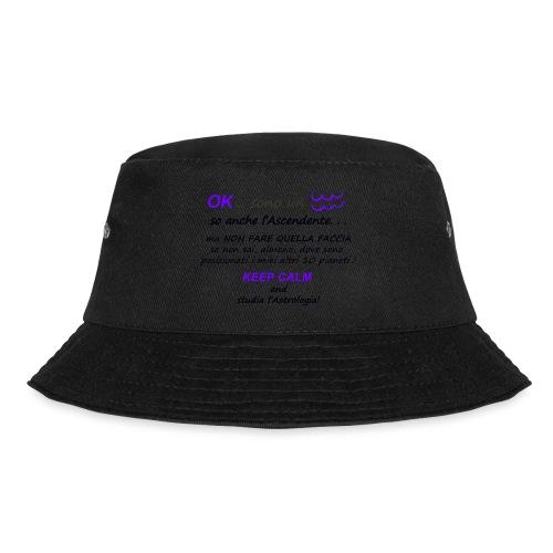 ACQUARIO - Cappello alla pescatora