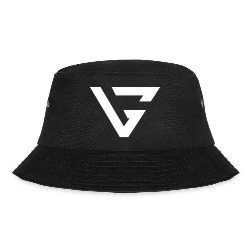 White VG Logo BIG - Bucket Hat