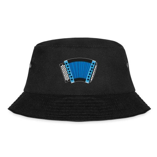 Schwyzerörgeli blau schwarzer Hintergrund - Fischerhut