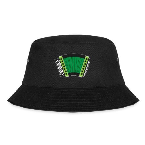 Schwyzerörgeli grün schwarzer Hintergrund - Fischerhut