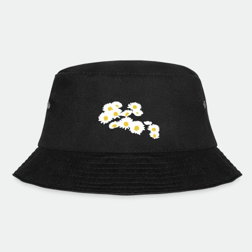 Spring Season Daisies - Bucket Hat