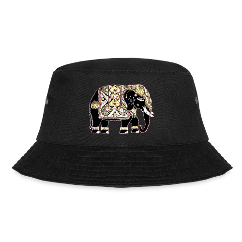 Indian elephant for luck - Bucket Hat
