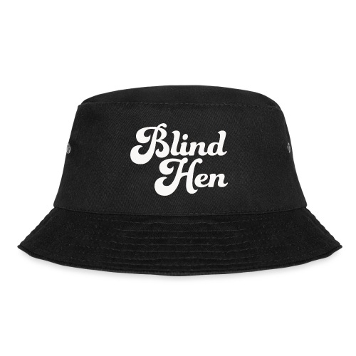 Blind Hen - Logo T-shirt premium, black - Bucket Hat