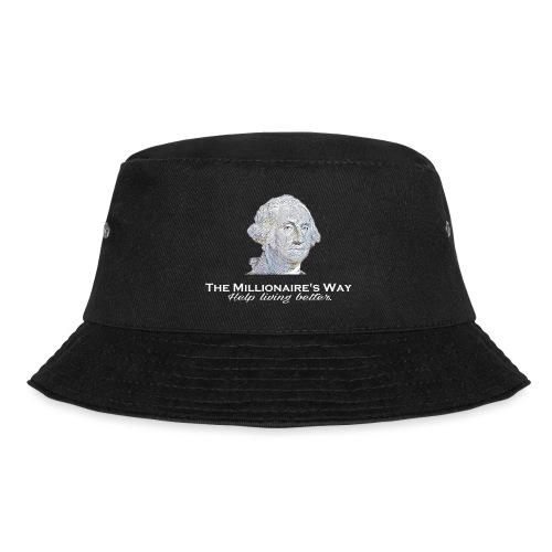 Il nostro logo in bianco - Cappello alla pescatora