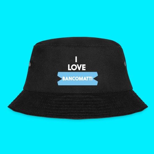 I LOVE BANCOMATTI Ver BIANCA - Cappello alla pescatora