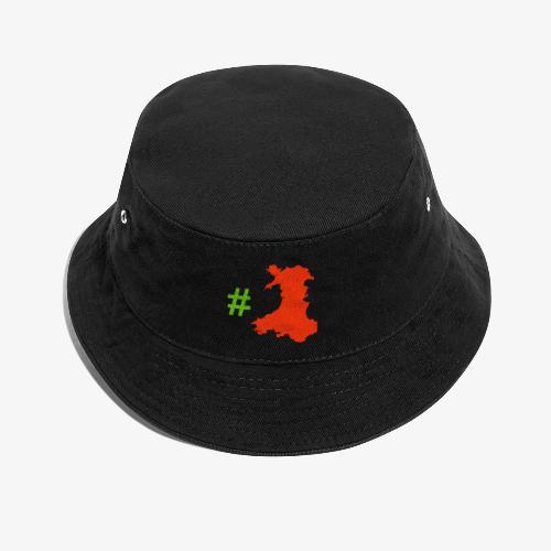 Hashtag Wales - Bucket Hat
