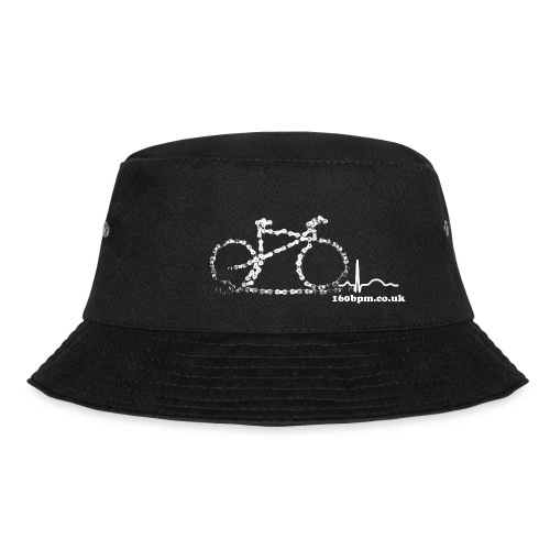Cycling Bike Chain 160bpm.co.uk - Bucket Hat
