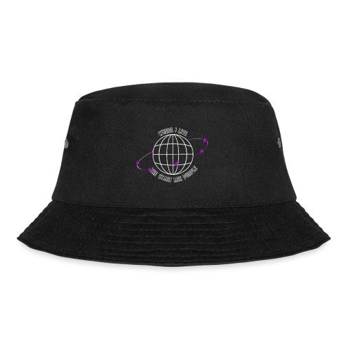 Where I Live The Stars Are Purple - Bucket Hat