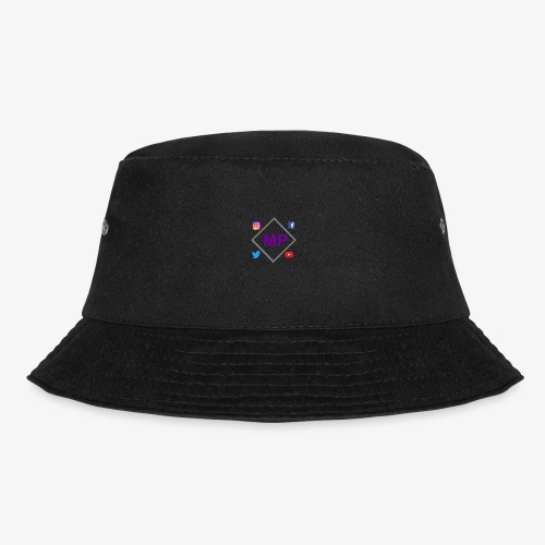 MP logo with social media icons - Bucket Hat