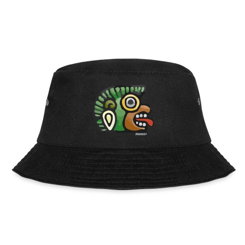 Aztec Icon Monkey - Bucket Hat
