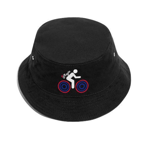 White side moto Premium - Cappello alla pescatora