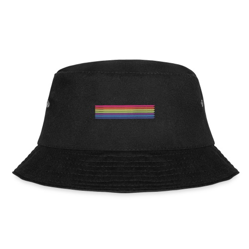 Colored lines - Bucket Hat