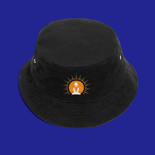 Guramylyfe logo white no text - Bucket Hat