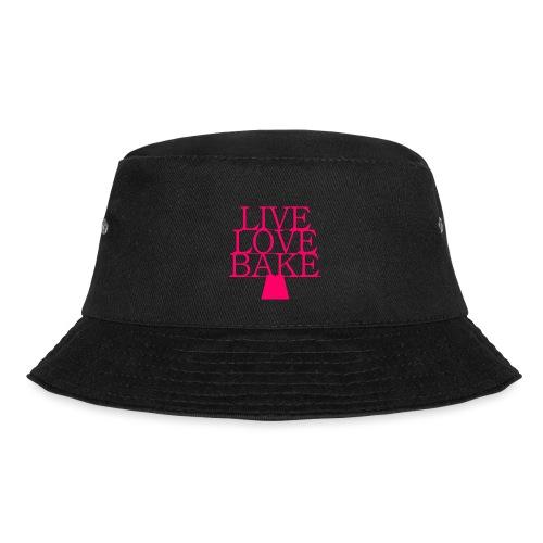 LiveLoveBake ekstra stor - Lystfisker-bøllehat