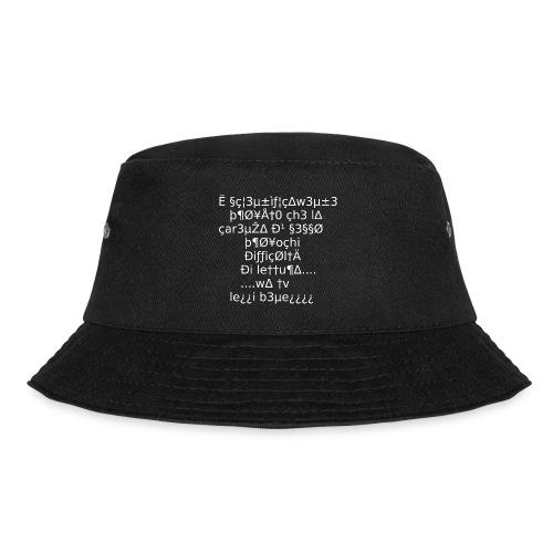 Carenza di sesso - Cappello alla pescatora