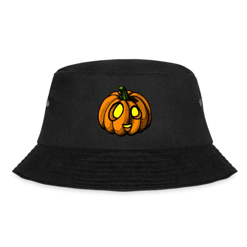 Pumpkin Halloween scribblesirii - Bucket Hat