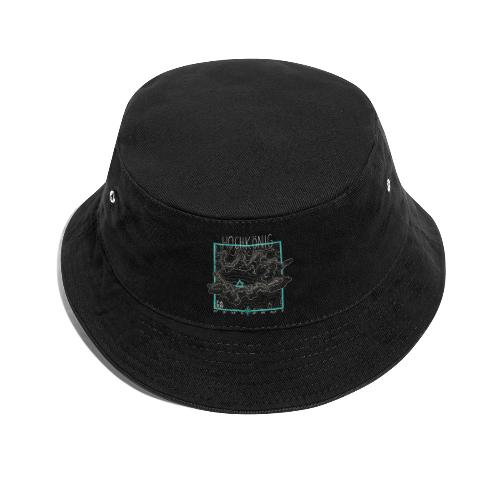 Hochkoenig Contour Lines - Square - Bucket Hat
