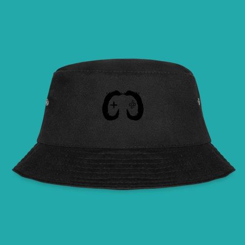 Crowd Control Controller Logo Black Large - Bucket Hat