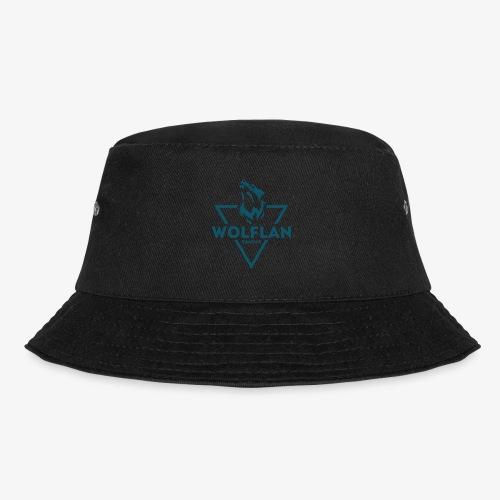 WolfLAN Logo Gray/Blue - Bucket Hat