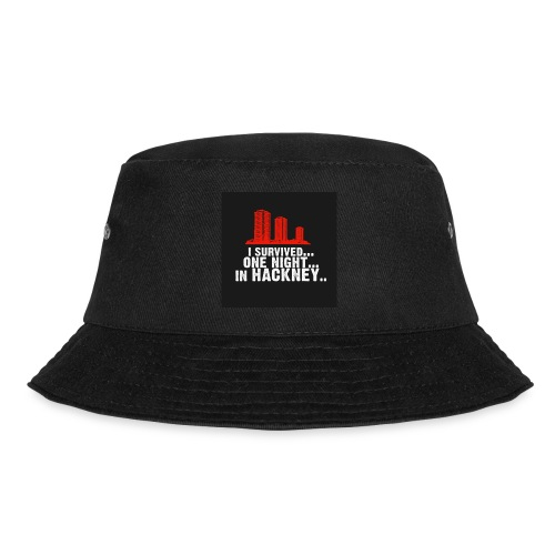 i survived one night in hackney badge - Bucket Hat