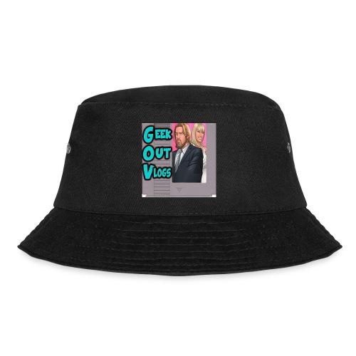 GeekOut Vlogs NES logo - Bucket Hat