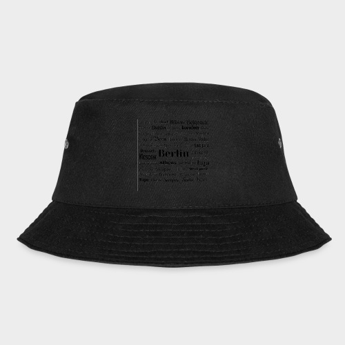 European capitals - Bucket Hat