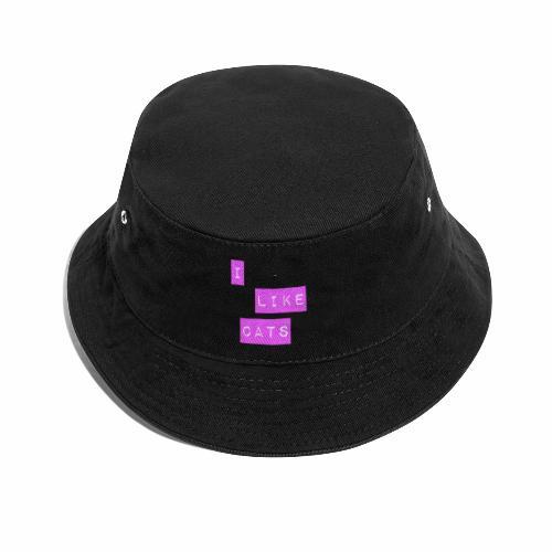 I like cats - Bucket Hat