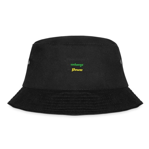 Recharge ur power saying in English - Bucket Hat