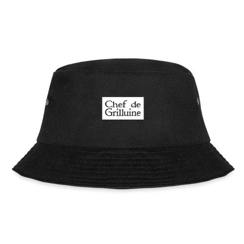Chef de Grilluine - der Chef am Grill - Fischerhut