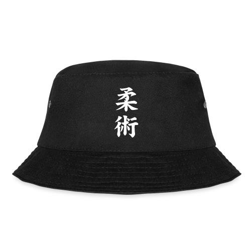 jiu-jitsu på japansk og logo i hvid - Lystfisker-bøllehat