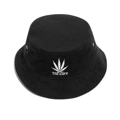 The cure of cannabis leaf. - Bucket Hat
